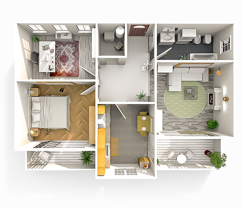 Smart house iran solutions for intelligent buildings for Home automation plan